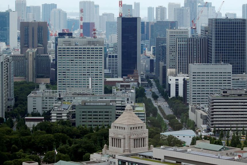 Bankruptcies in Japan declined in the six months through September to the lowest since 1990.