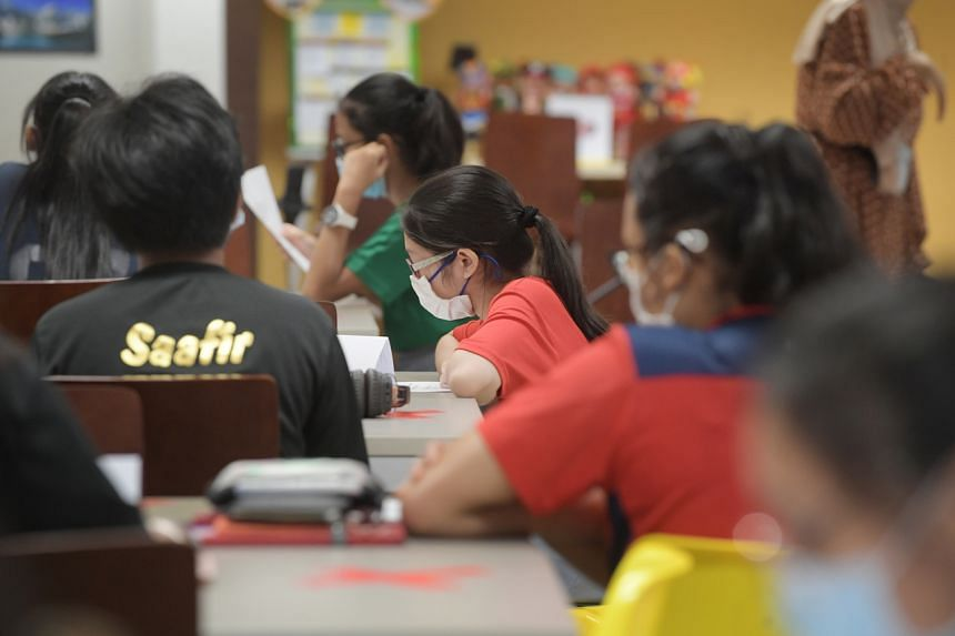 More than eight in 10 of Singapore students said they felt confident explaining issues related to global climate change.