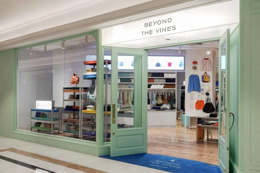 Beyond The Vines Design Store at Ngee Ann City.