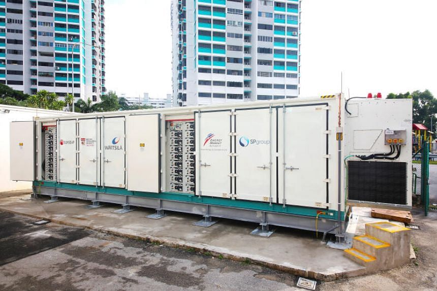 The capacity of the ESS is equivalent to powering more than 200 four-room HDB households for a day.