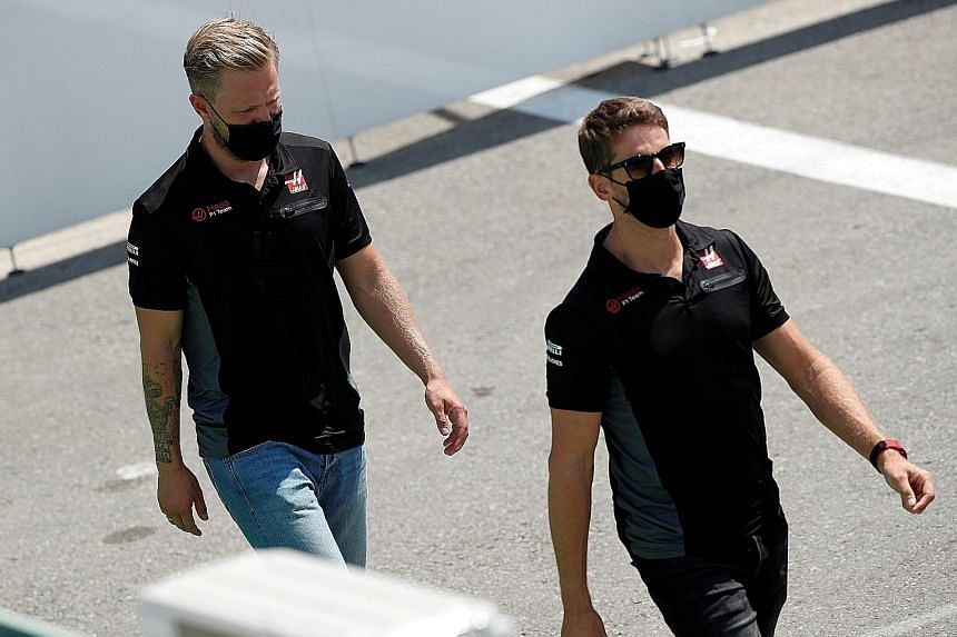 Grosjean and Magnussen will leave Haas F1 at end of this season