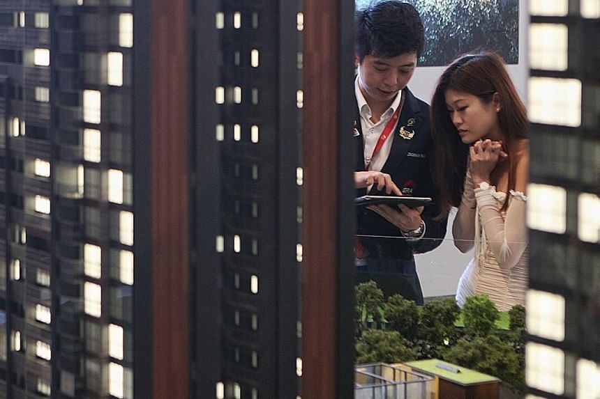 The ratings will reflect whether an agent provided services beyond the client's expectations, and if the agent was open, honest and reliable, and had the skills to facilitate a favourable deal for his client. LIANHE ZAOBAO FILE PHOTO
