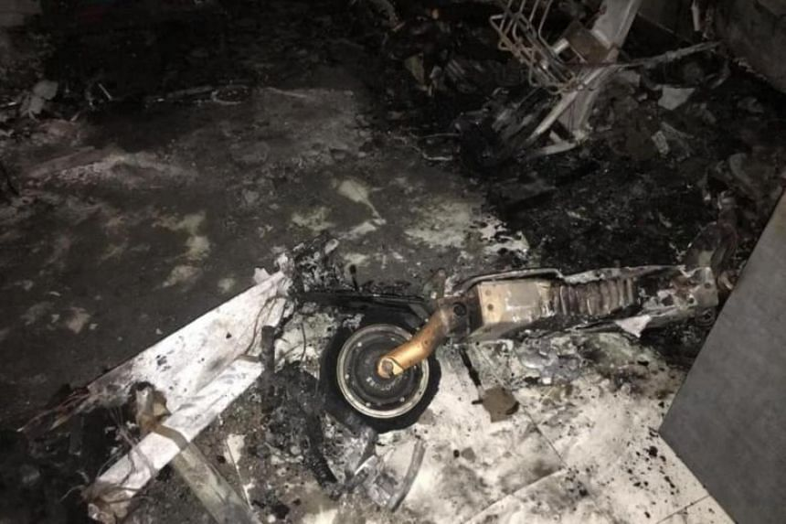 A fire in a Bukit Batok flat in 2019 that led to the death of its home owner was caused by a personal mobility device that overheated as it was being charged.