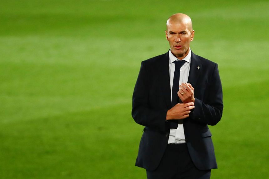 Zinedine Zidane has called on his players to turn their season around by beating Barcelona on Oct 24, 2020.