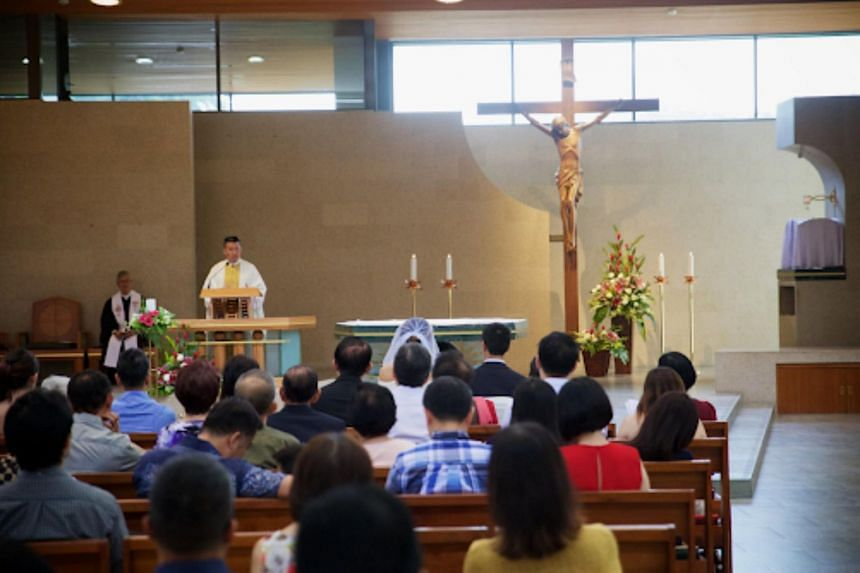 """The """"Catholic understanding of marriage is defined as the sacrament by which a baptised man and a baptised woman bind themselves for life in lawful marriage"""", said the Church."""