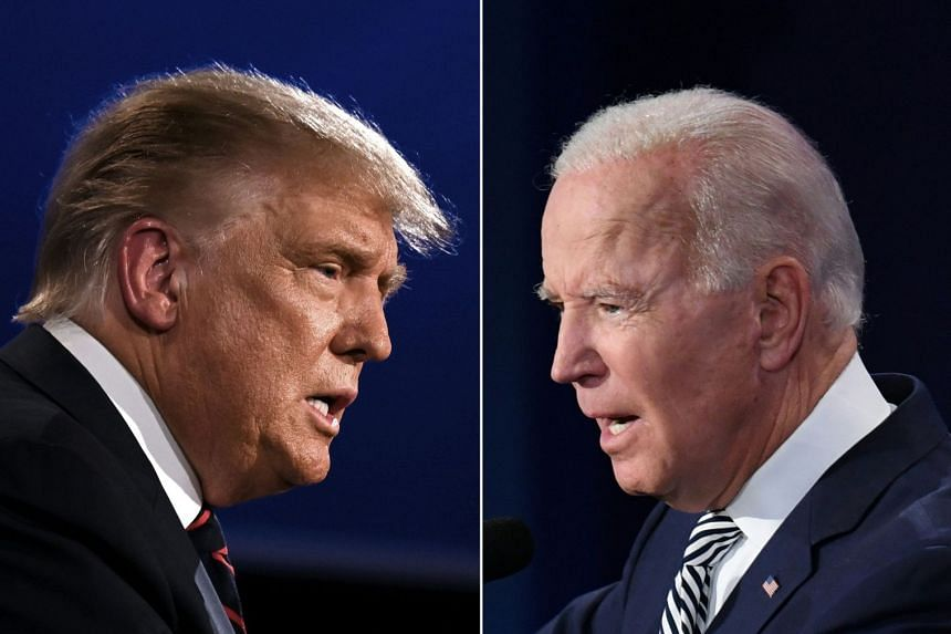 Biden leads Trump by eight percentage points in the latest Reuters/Ipsos national poll.
