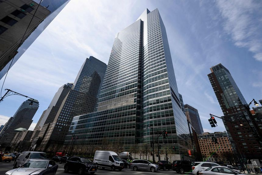 The headquarters of Goldman Sachs in New York City.