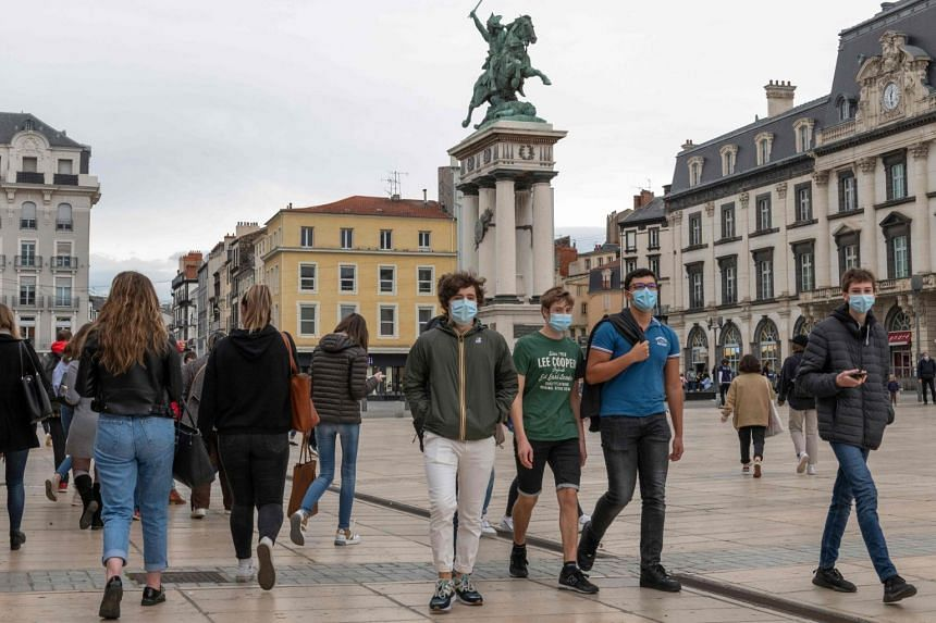 France Expands Coronavirus Curfew to 70% of Population As New Cases Rise