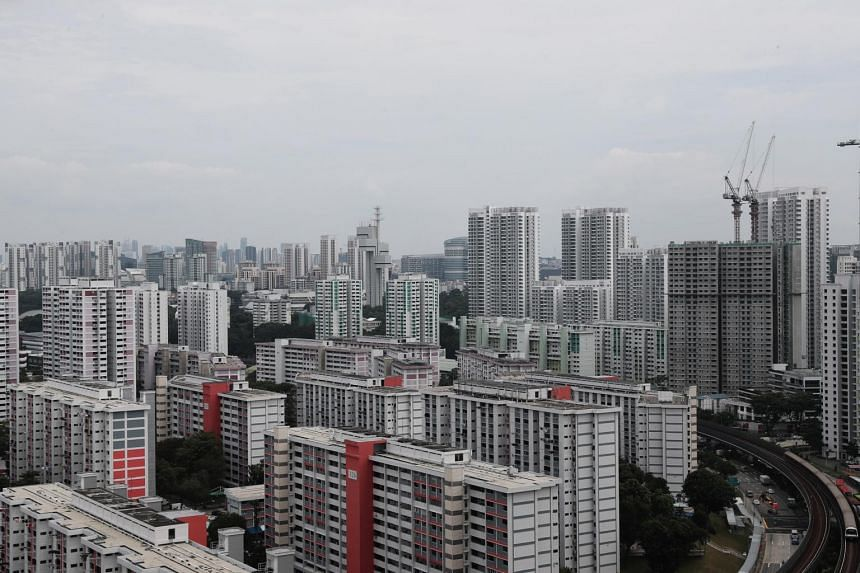 The resale volume at 7,787 flats was the highest in 10 years.