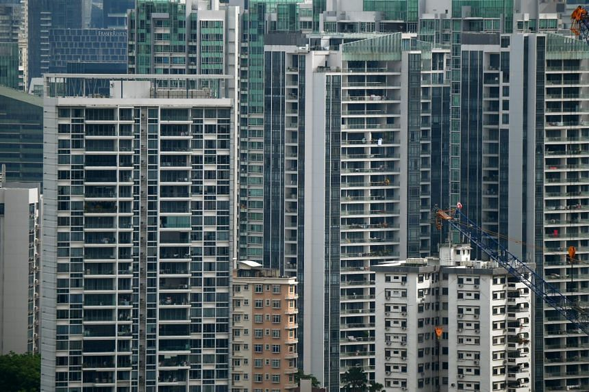 Private home prices have edged up 0.1 per cent to date in 2020.