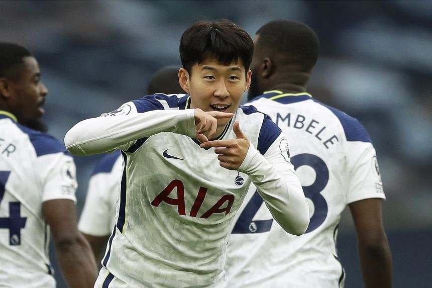 Son Heung-min came on as a substitute to score for the ninth time in all competitions this season.