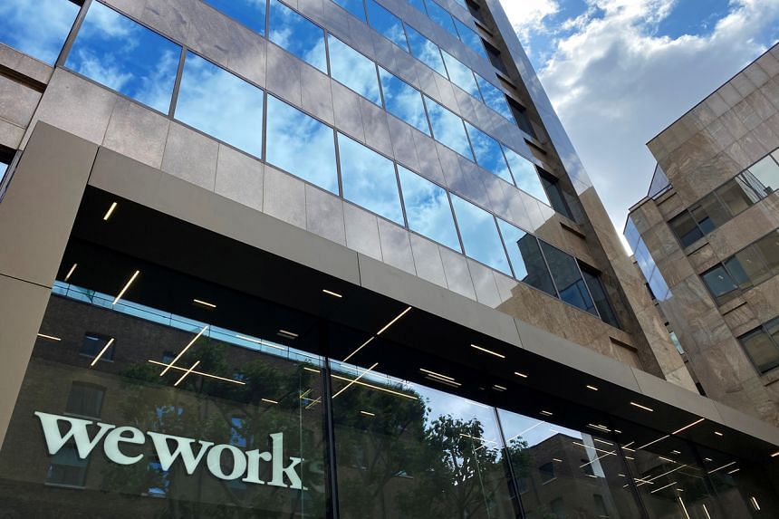 Fitch cited the effects of the Covid-19 pandemic on WeWork's already struggling business model.