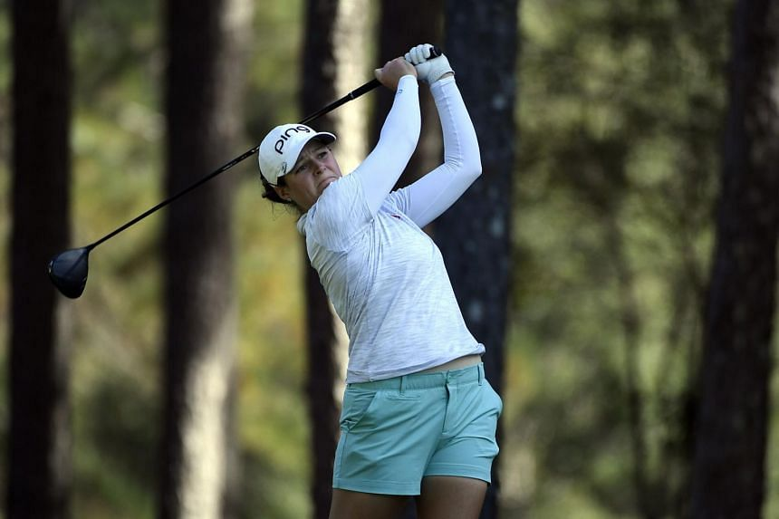 Ally McDonald fired a four-under-par 68 to stand on 10-under 134 after 36 holes.