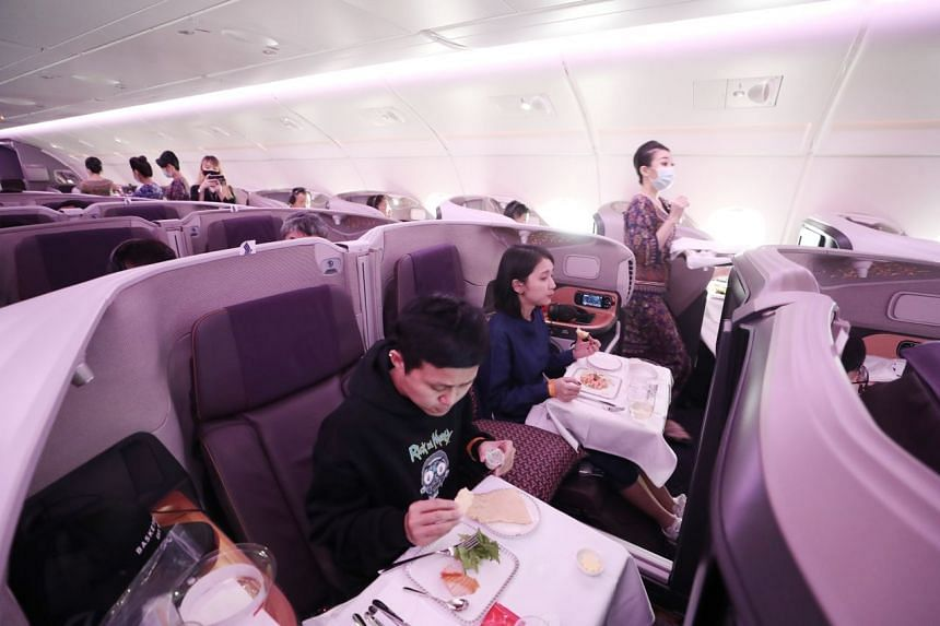 Almost 200 SIA staff, including cabin crew, volunteered to help out at the event.