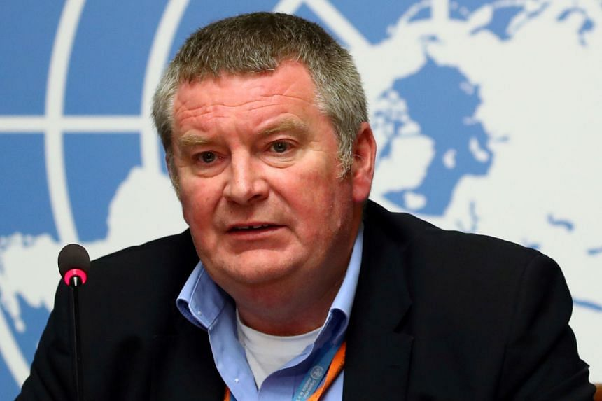 DR MIKE RYAN, executive director of the World Health Organisation