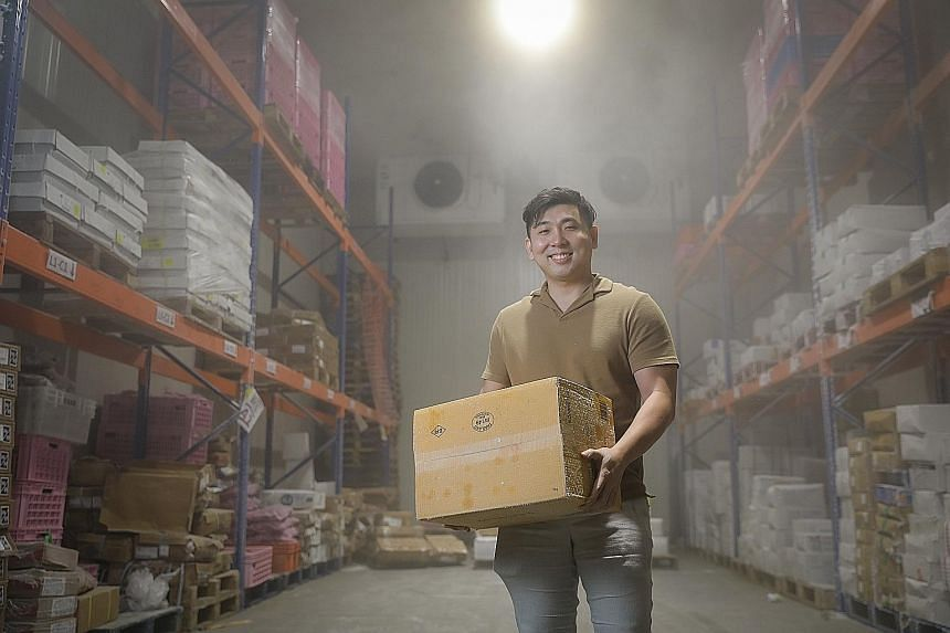 In 2017, Mr Lau Jia Cai (above) set up TreeDots, a social enterprise that bridges unsold food inventory and buyers, with two former classmates.
