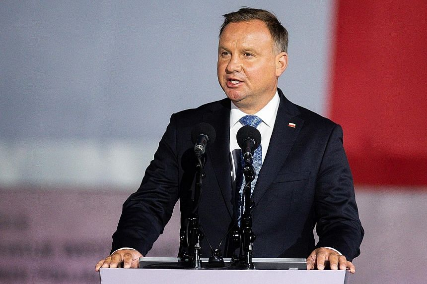 Polish president tests positive for coronavirus as European cases surge