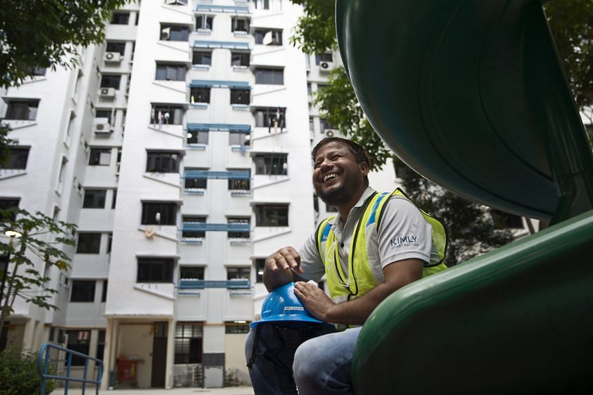 Mr Rahim Islam has stayed at Kim Keat Avenue for the past twelve years and considers this neighbourhood his home in Singapore.