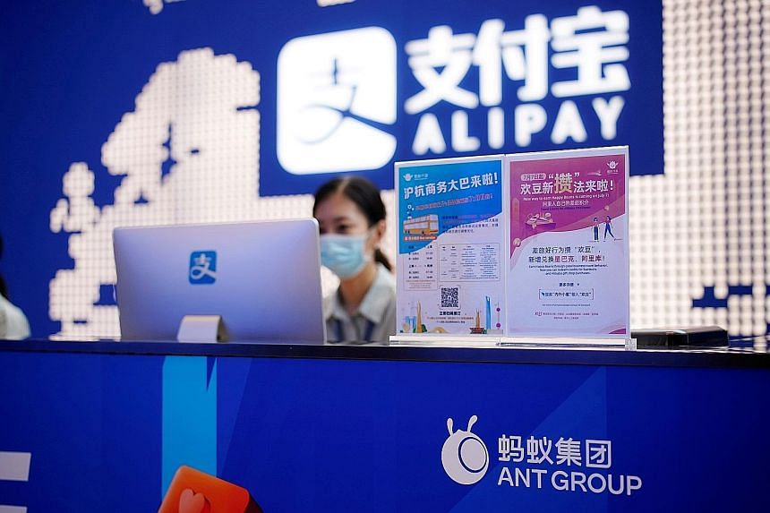 The Shanghai office of Alipay, owned by Ant Group, which is an affiliate of Chinese e-commerce giant Alibaba. Ant has chosen the stock code 688688 for its Shanghai listing, which for Chinese speakers combines two of the most auspicious numbers, toget