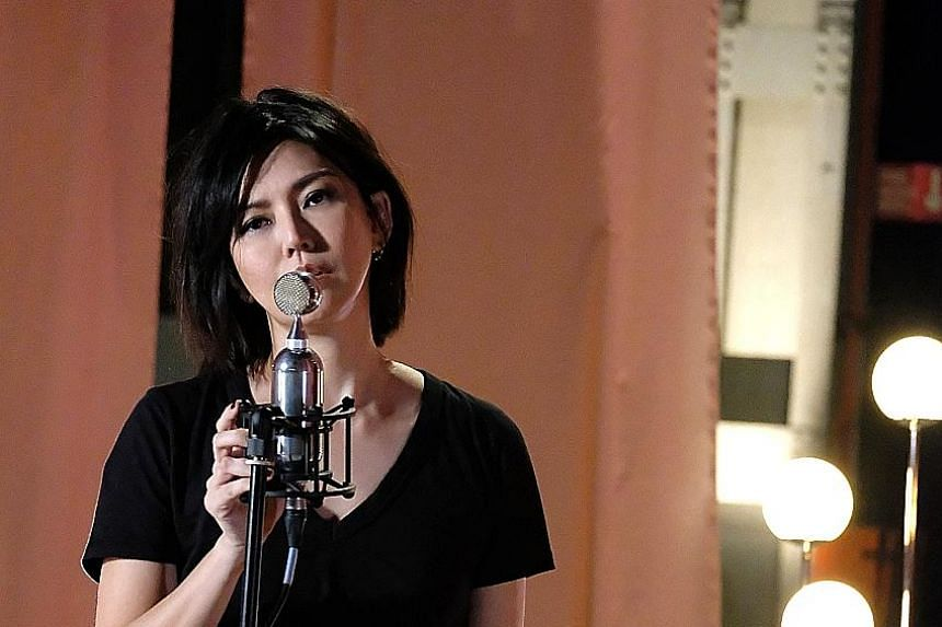 Singer Stefanie Sun performed in Online Music Showcase 2.0, which was streamed live on platforms such as YouTube and QQ Music last Saturday.