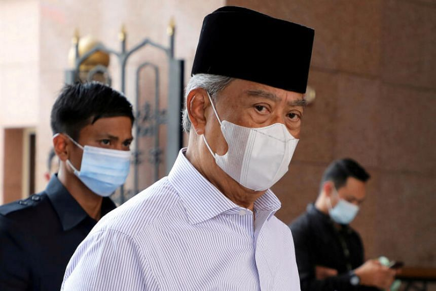 The meeting sparked speculation of Mr Muhyiddin's resignation, but a source said it was to discuss the King's decision.
