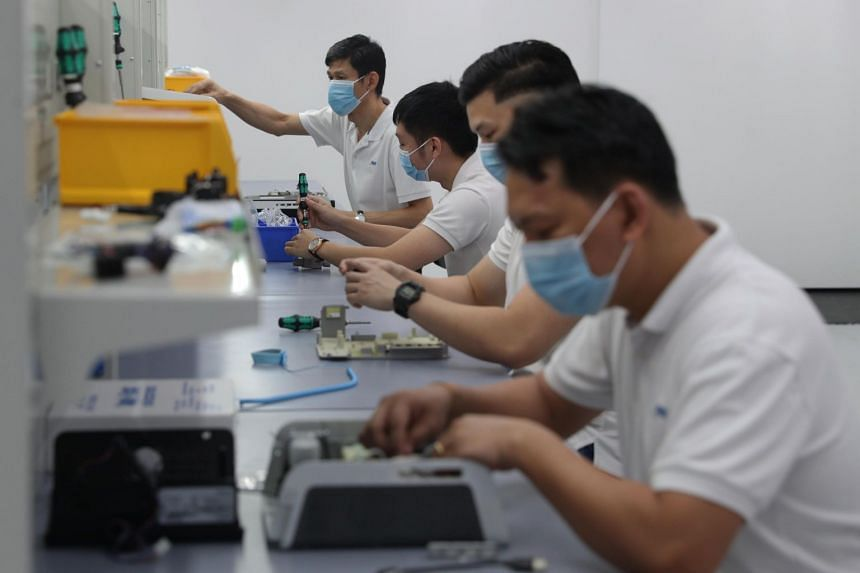 On a year-to-date basis, the biomedical manufacturing cluster grew 26.6 per cent compared with the same period in 2019.