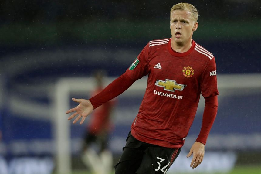 Manchester United signed Donny Van de Beek from Ajax Amsterdam on a five-year contract.