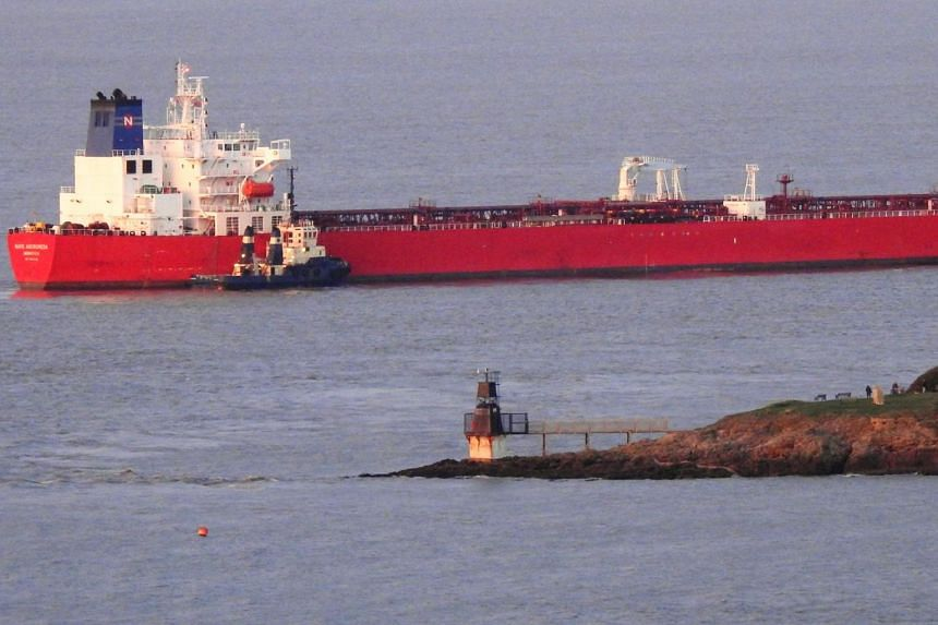 The vessel was on its way from Nigeria and reportedly due to dock in Southampton.