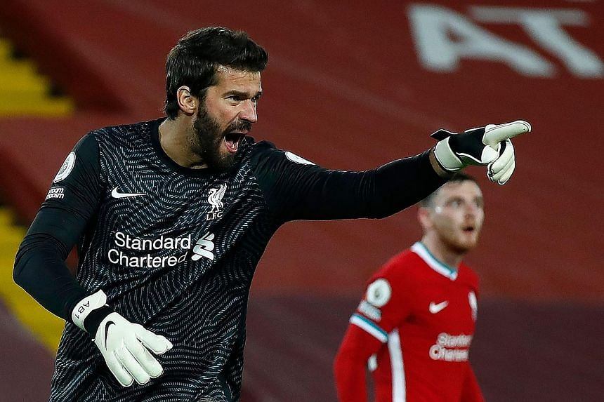 The early return of Brazilian goalkeeper Alisson Becker is a relief to Liverpool who are battling an injury crisis