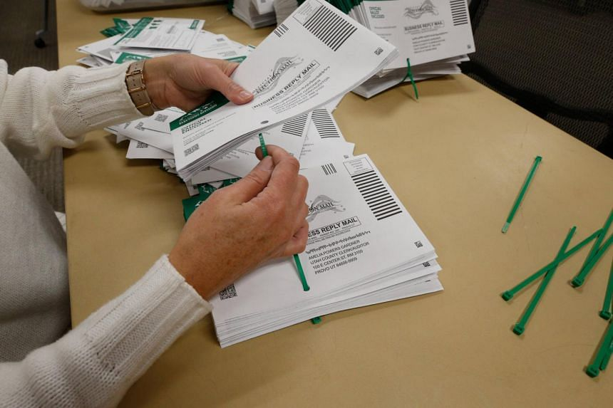 Many US states have expanded early voting and the use of mail-in ballots ahead of the Nov 3 election.