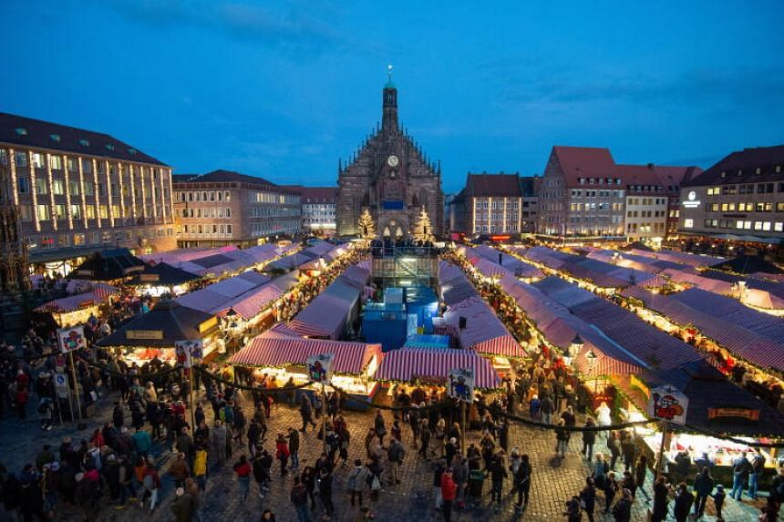 Nuremberg's Christkindlesmarkt attracts more than two million visitors annually.