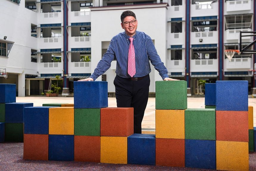 Mr Lim (above) met a good English teacher in secondary school who sparked his interest in reading.