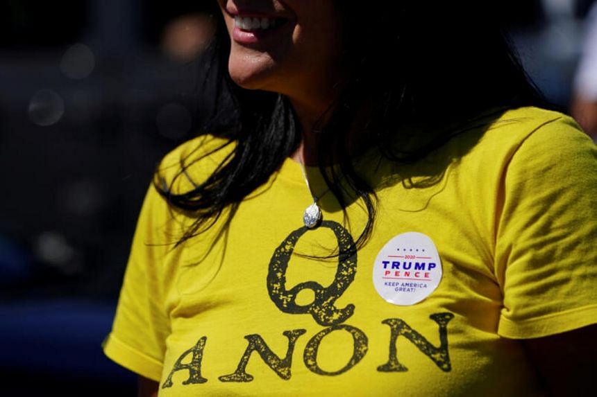 More than two dozen candidates for the US Congress have endorsed or given credence to QAnon or promoted QAnon content online.