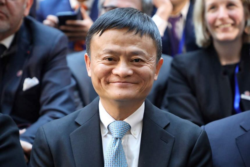 Mr Ma's 8.8 per cent stake is worth US$27.4 billion based on the stock pricing in Hong Kong and Shanghai.