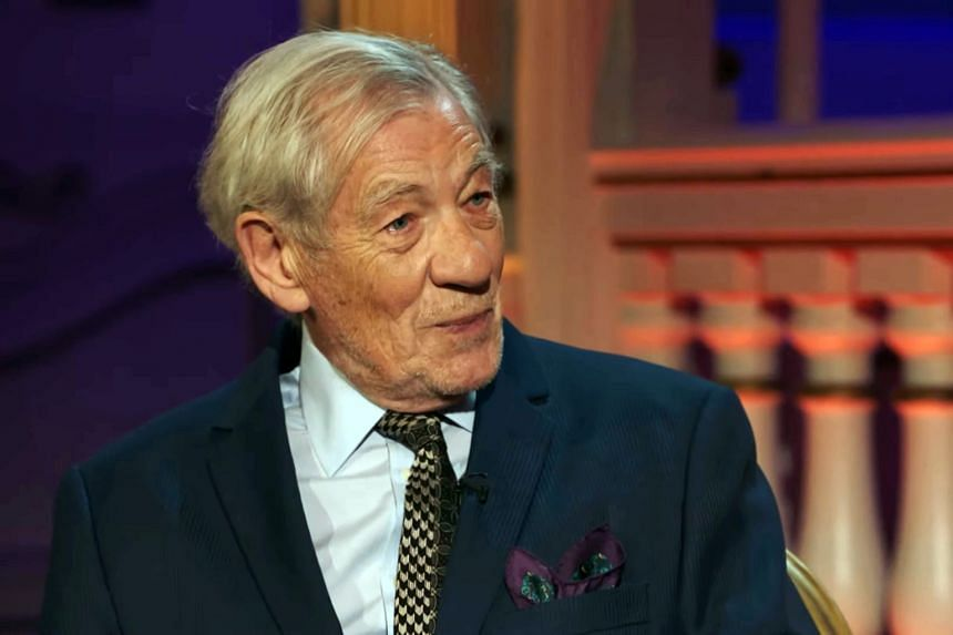 Ian McKellen received his seventh Olivier award for his 80th birthday solo tour.