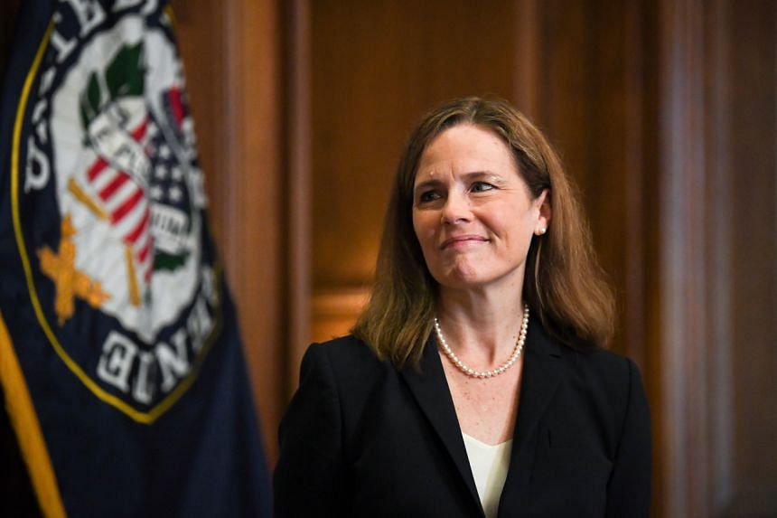 Amy Coney Barrett, a federal appeals court judge, is US President Donald Trump's third selection for the Supreme Court.