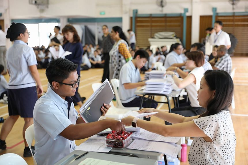 Students can also return to their respective schools to collect their results as MOE recognises that doing so marks an important milestone.