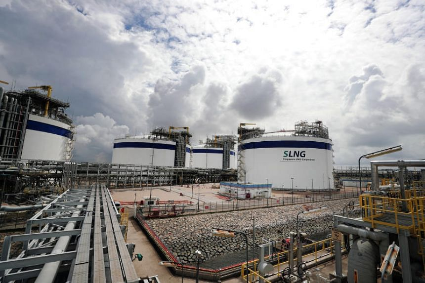 LNG makes up 95 per cent of Singapore's energy mix.