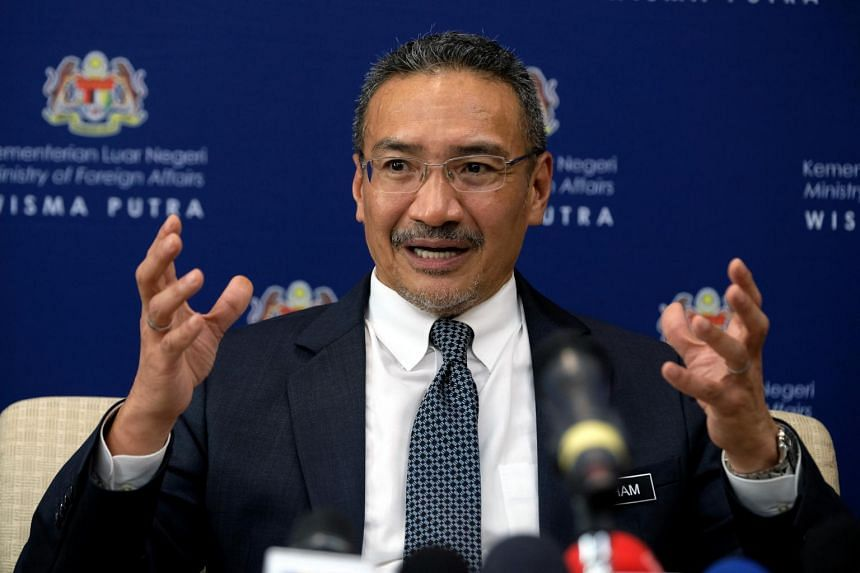 """Foreign Affairs Minister Hishammuddin Hussein said his government is gravely concerned over the """"growing open hostility towards Muslims""""."""