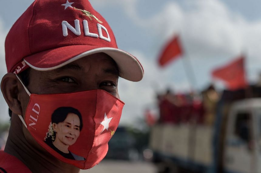 The National League for Democracy is widely expected to win next week's election.