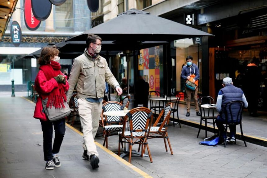 Restaurants and cafes in Melbourne can reopen from Wednesday and limits on social gatherings at homes have been eased.