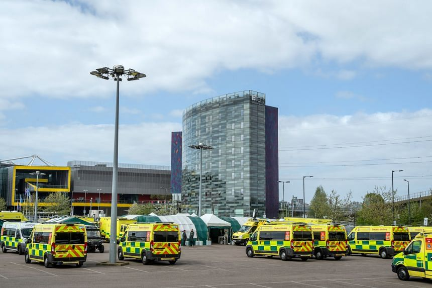 Hospitals in Britain have cancelled nonessential operations and transferred patients to nearby facilities.