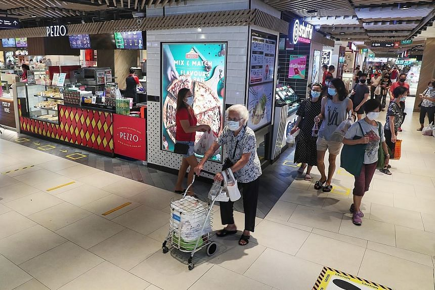 The Monetary Authority of Singapore noted that Covid-19 has changed consumption patterns, which could dampen labour demand. For example, working from home could become more prevalent, reducing demand for transportation services as well as social and