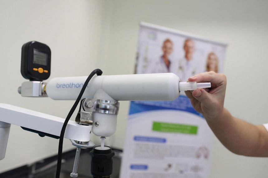 A test kit that can accomplish this has been developed by National University of Singapore spin-off Breathonix.