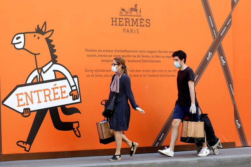 Hermes is the first high-end group to return to sales growth in the third quarter.