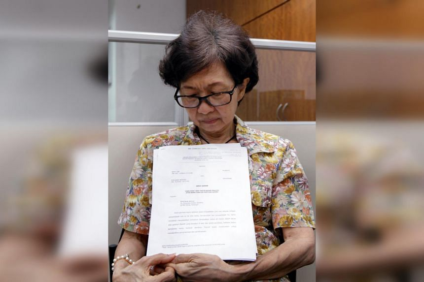 Ms Dolly Ng received a call from a man claiming to be a policeman, who said her inherited funds were under a probe.
