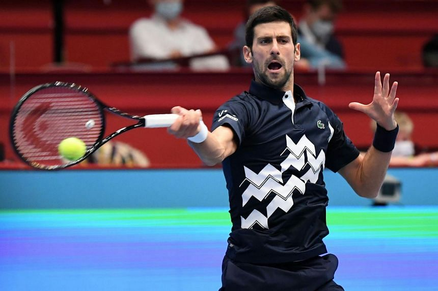 Djokovic saves 4 set points, beats Coric for Vienna quarter