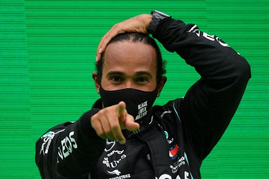 Hamilton on Oct 25 became the sport's most successful driver when he claimed a record 92nd win.