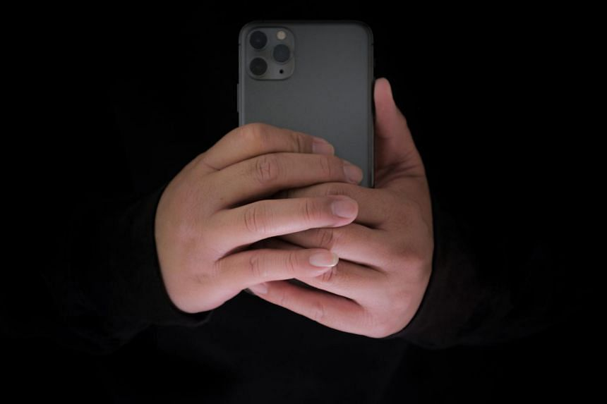 """The accused had tried to angle his phone to get a """"better view"""" of the victim."""
