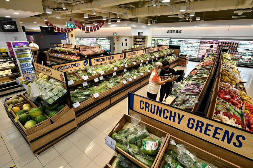 FairPrice Downtown East was recently renovated, and is now bigger.